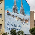 KVB, Wandgestaltung Köln