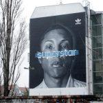 Adidas Superstar, Wandgestaltung Berlin
