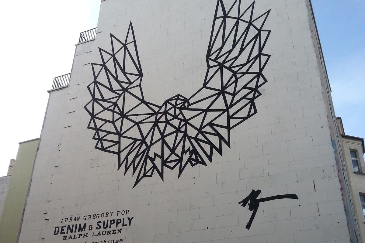 Ralph Lauren, Wandgestaltung Berlin