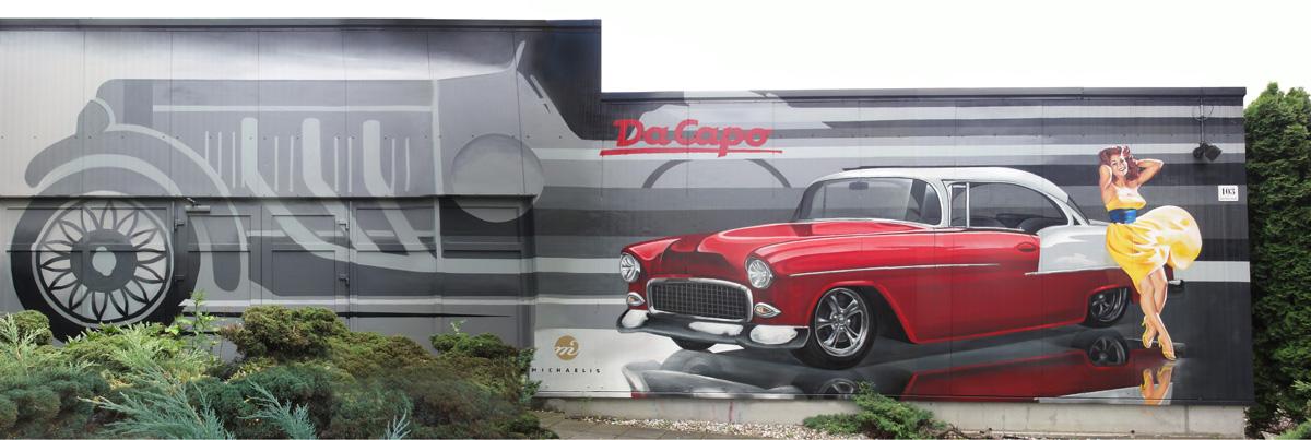 Da Capo, Wandgestaltung Leipzig