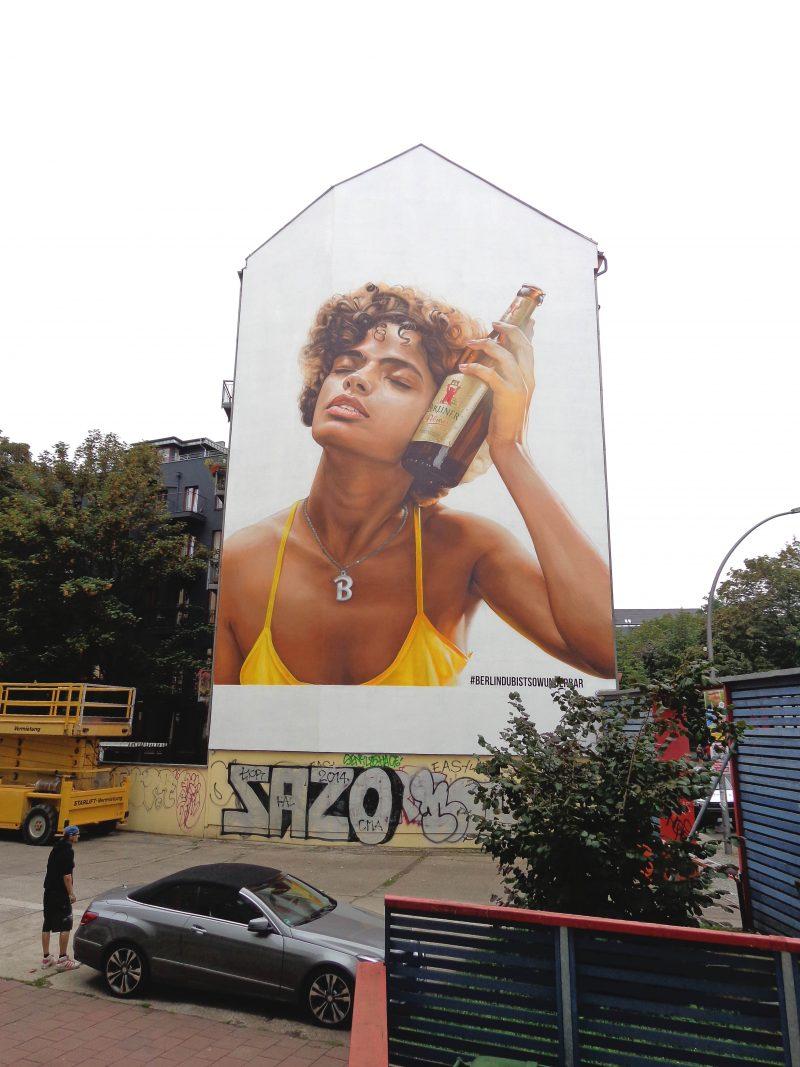 Wandgestaltung Berliner Pilsner