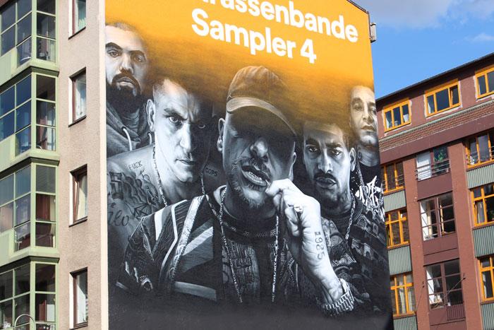 Wandgestaltung Leipzig Spotify 187 Strassenbande