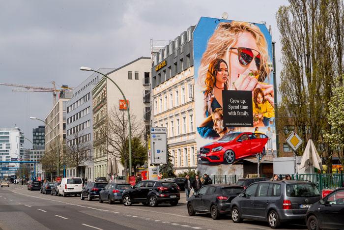 Wandgestaltung Leipzig Mercedes Benz Grow Up