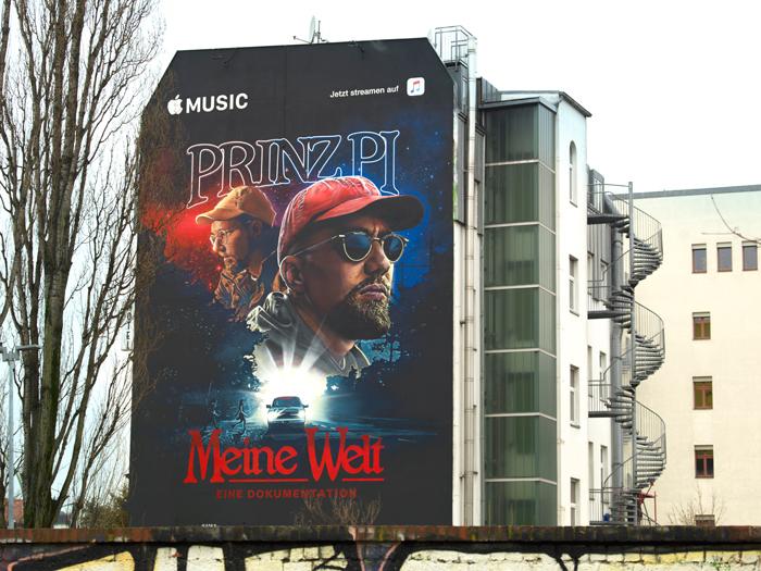 Wandgestaltung Leipzig Apple Music Prinz Pi