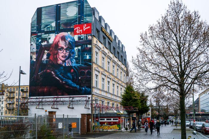 Wandgestaltung Leipzig Ray Ban