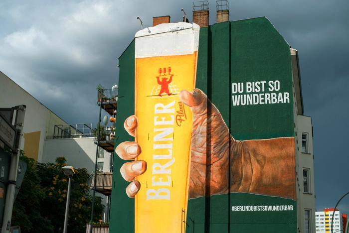 Wandgestaltung Leipzig Berliner Pilsner
